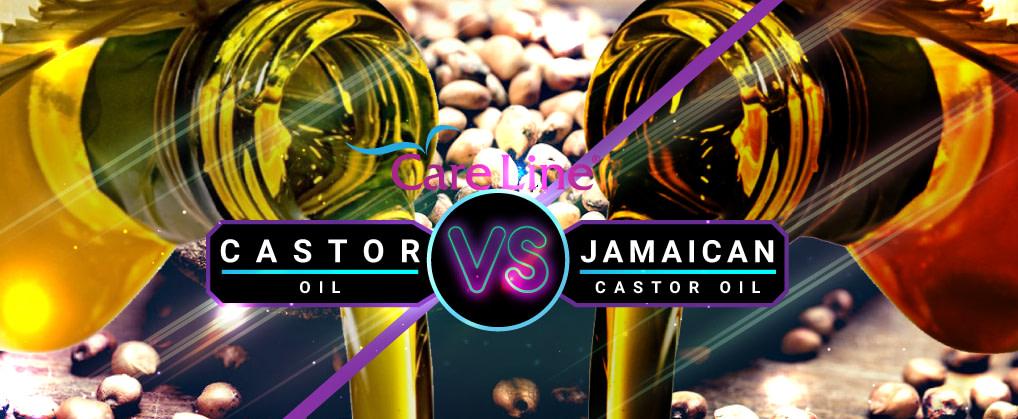 JAMAICAN BLACK CASTOR OIL VS. CASTOR OIL