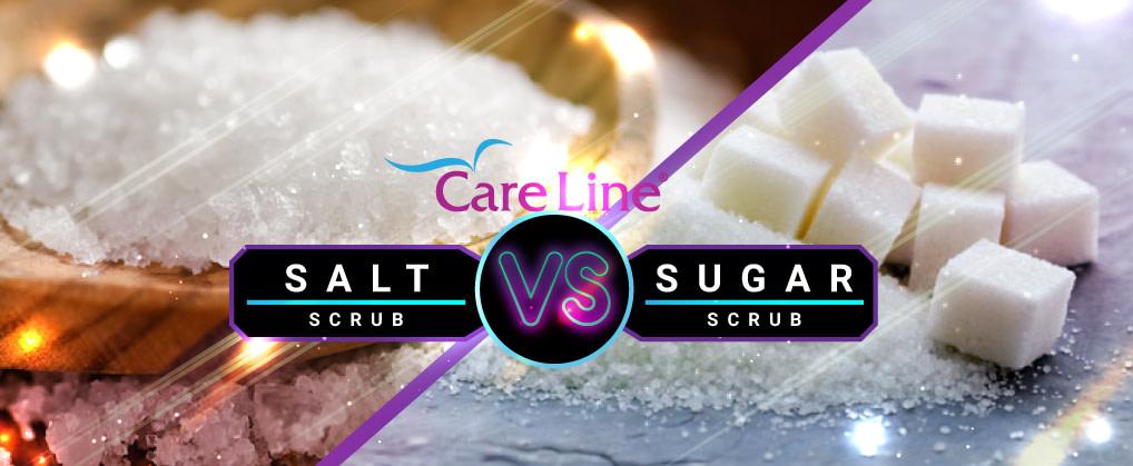 SUGAR SCRUBS VS SALT SCRUBS